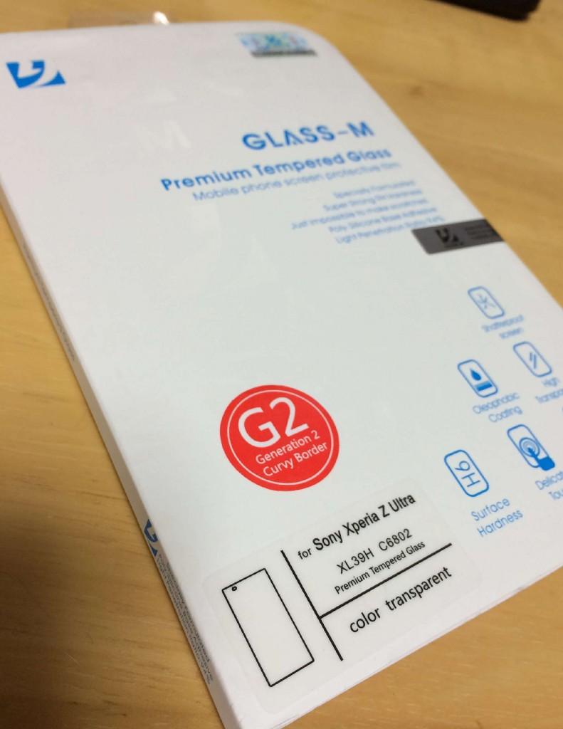 Xperia Z Ultra対応glass-m